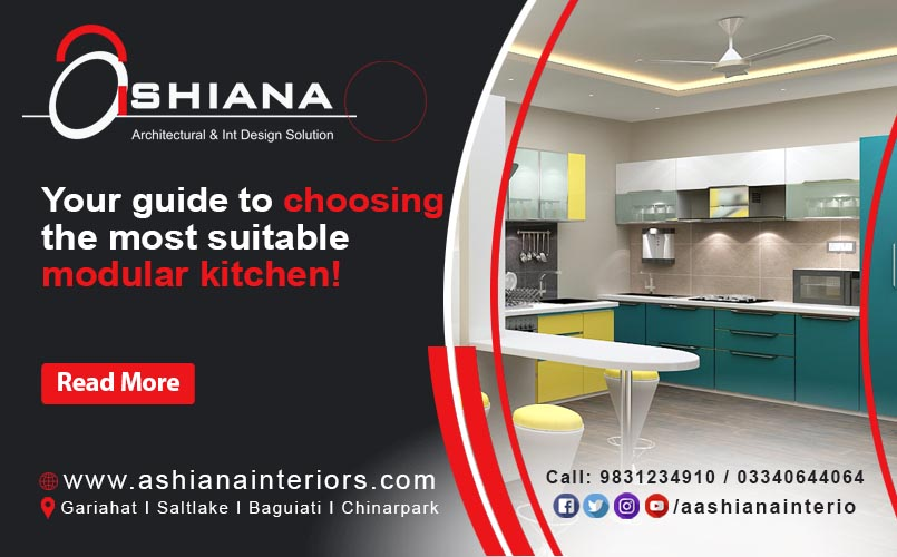 Your guide to choosing the most suitable modular kitchen!