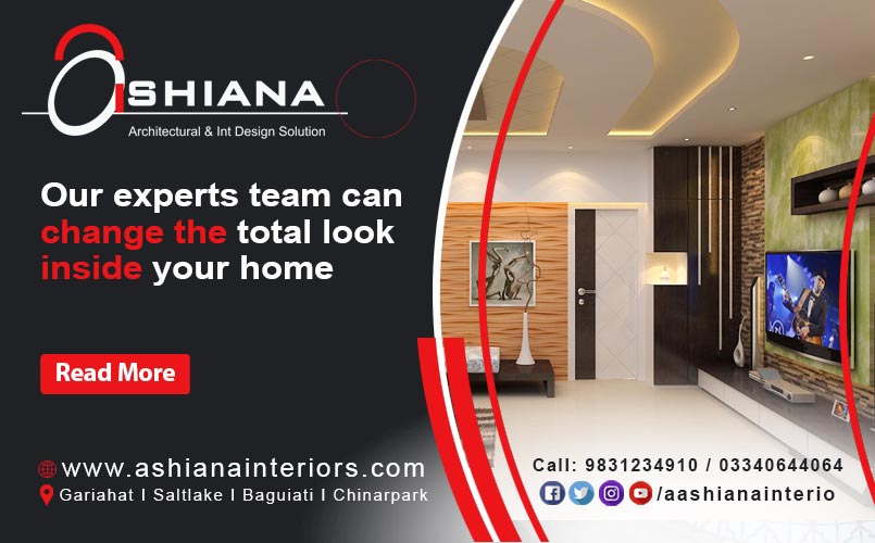 Best interior design company in Kolkata? Call Ashiana Interiors now!