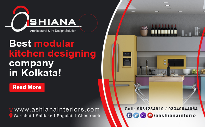 Which is the best modular kitchen designing company in Kolkata?