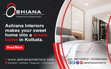 Ashiana Interiors makes your sweet home into a dream home in Kolkata.
