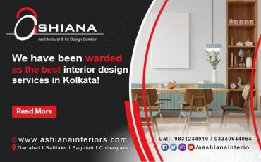 Best interior design services in Kolkata? Call Ashiana Interiors now!